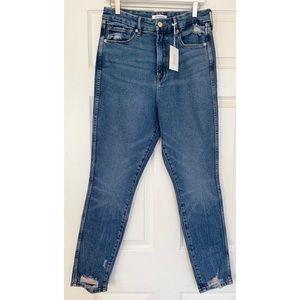 GOOD AMERICAN denim good curve skinny jeans 10/30